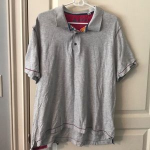Robert Graham Light Gray Shirt
